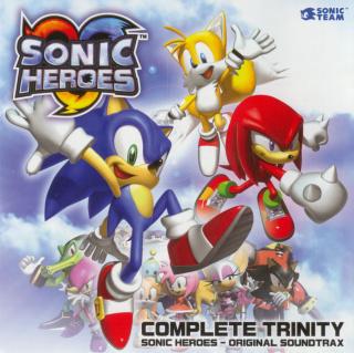 Complete Trinity Sonic Heroes - Original Soundtrax — Sonic